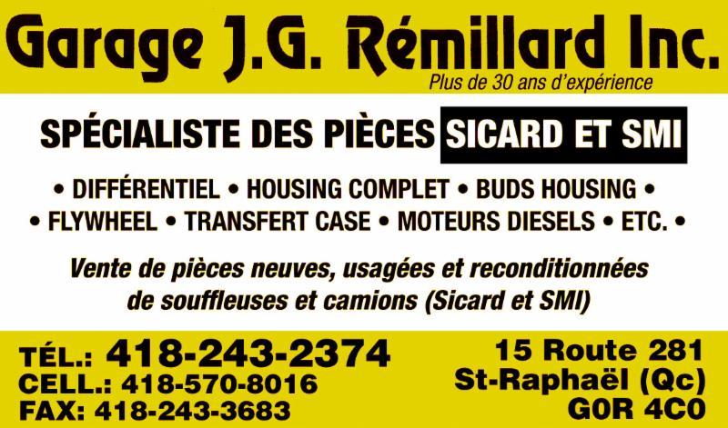 Garage J.G. Rémillard