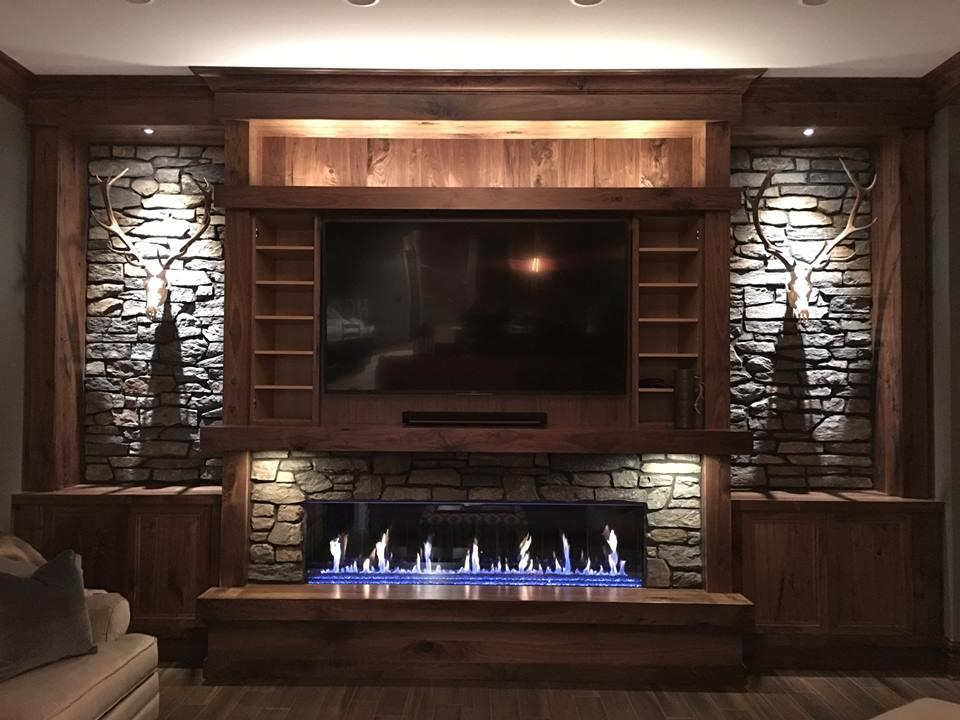 We Install Gas & Wood Burning Fireplaces
