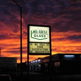 All-West Glass in Chetwynd