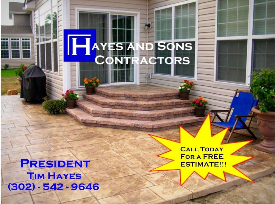 Hayes and Sons Stamped Concrete image 0