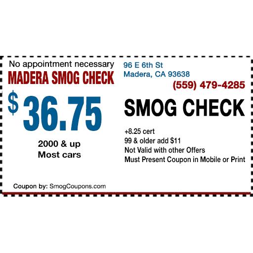 Madera Smog Check