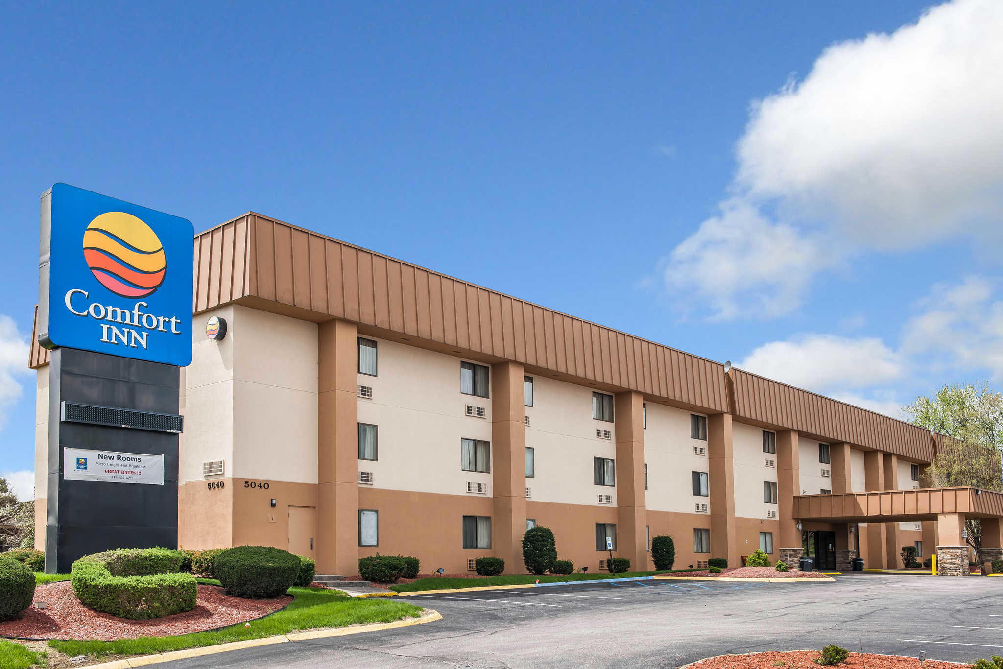 Find Comfort Inn hotels in Indianapolis, IN. With great amenities and our Best Internet Rate Guarantee, book your hotel in Indianapolis today.
