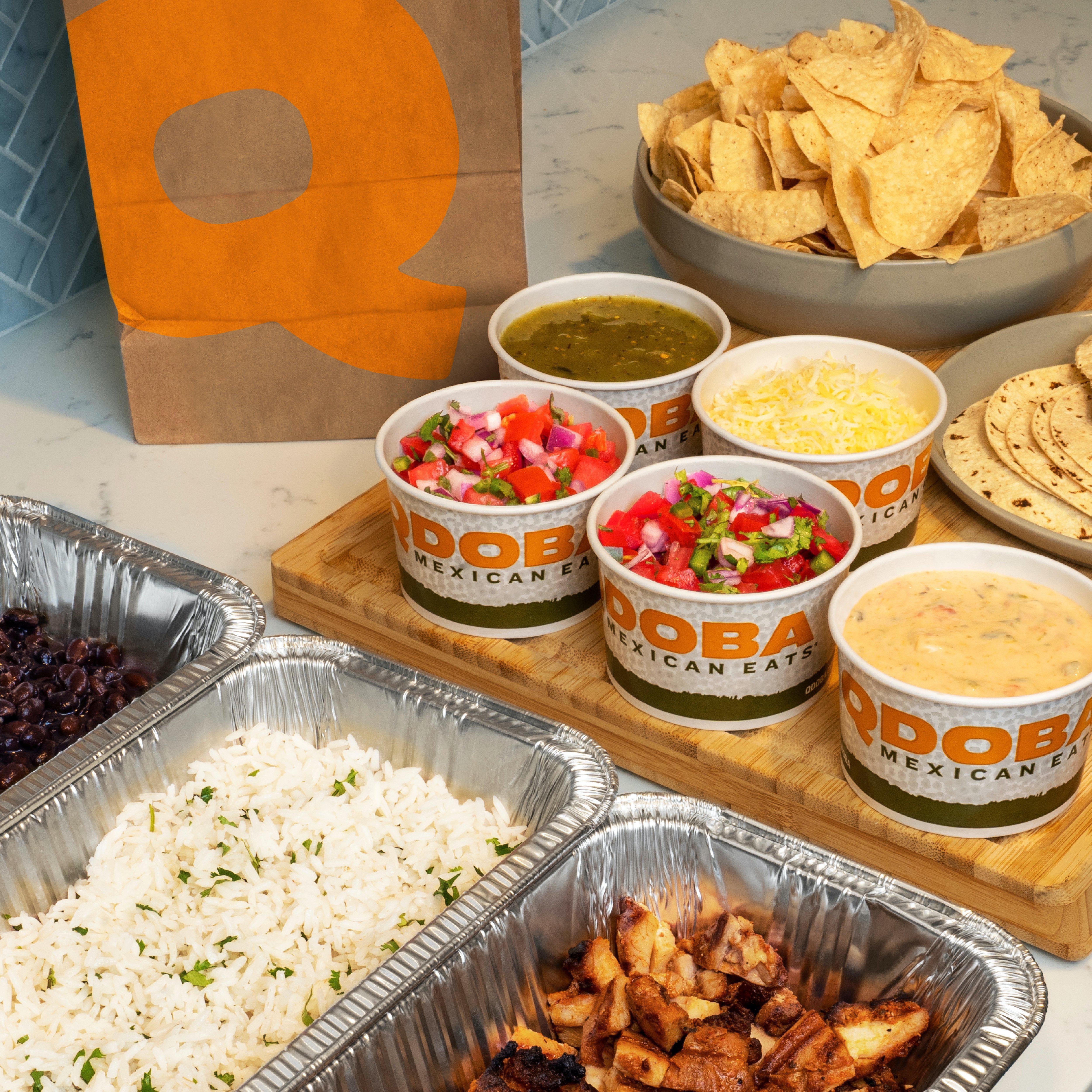 QDOBA Mexican Eats - Closed