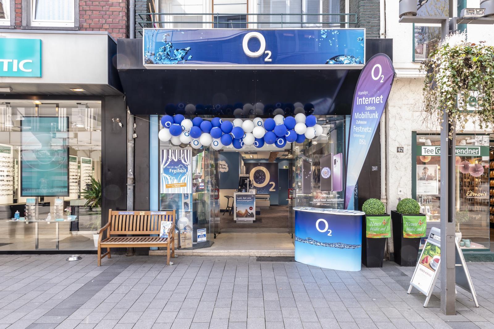 o2 Shop, Niederstr. 69 in Neuss