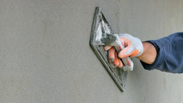 Как сделать цемент раствор на штукатурку