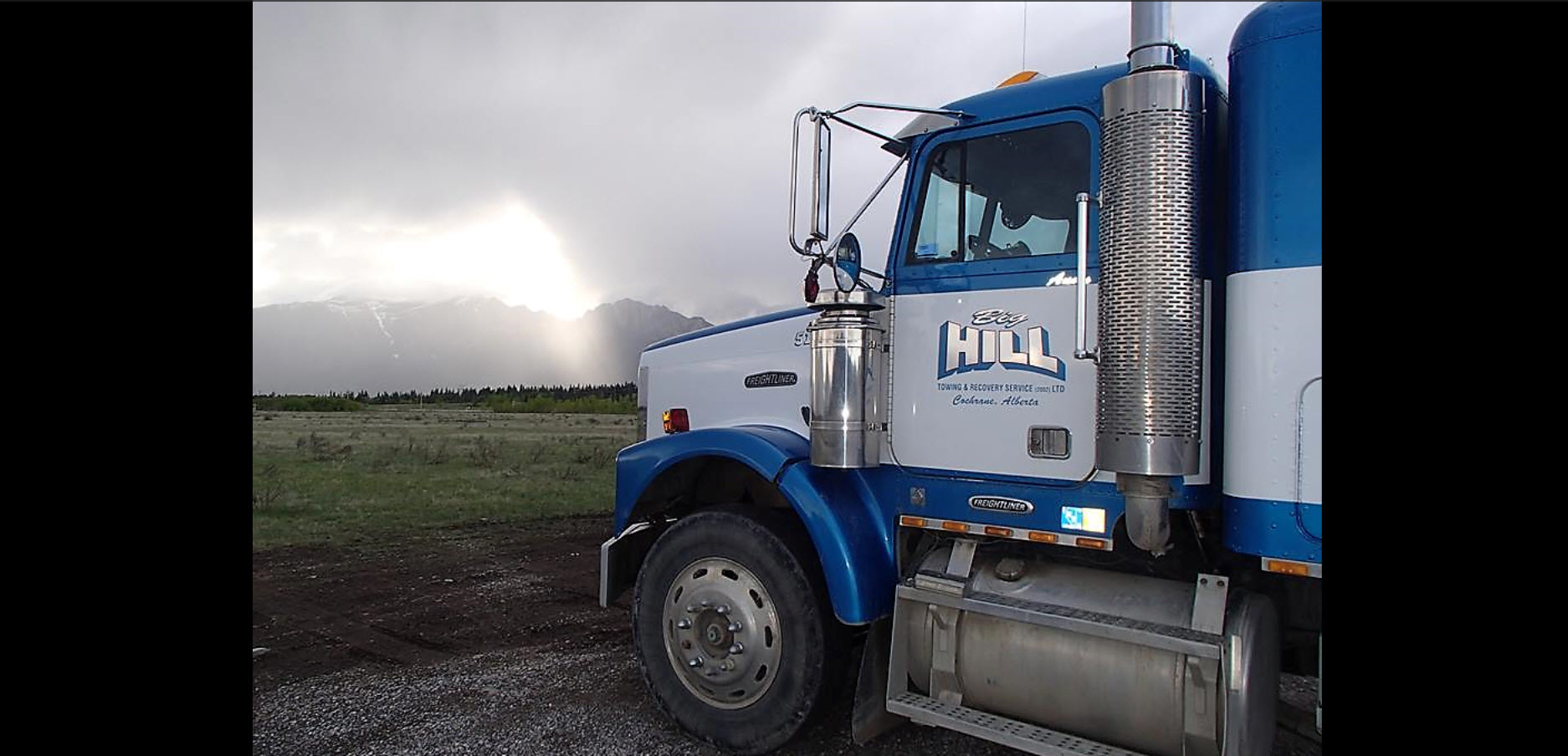 Big Hill Towing & Heavy Duty Repair in Cochrane