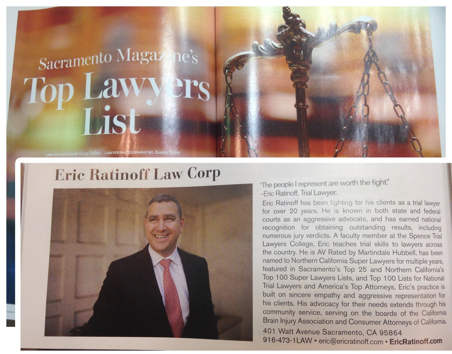 Eric Ratinoff Law Corp image 6