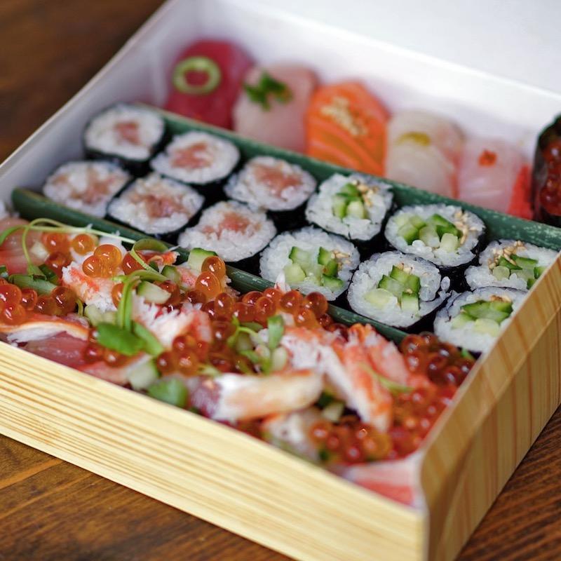 Click to expand image of Premium Sushi Box