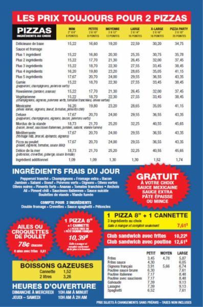 Pizza Charest à Québec