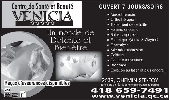 Vénicia, Centre de santé et de Beauté in Québec
