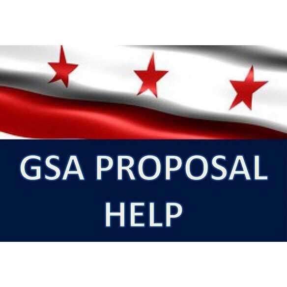 GSA Proposal Help