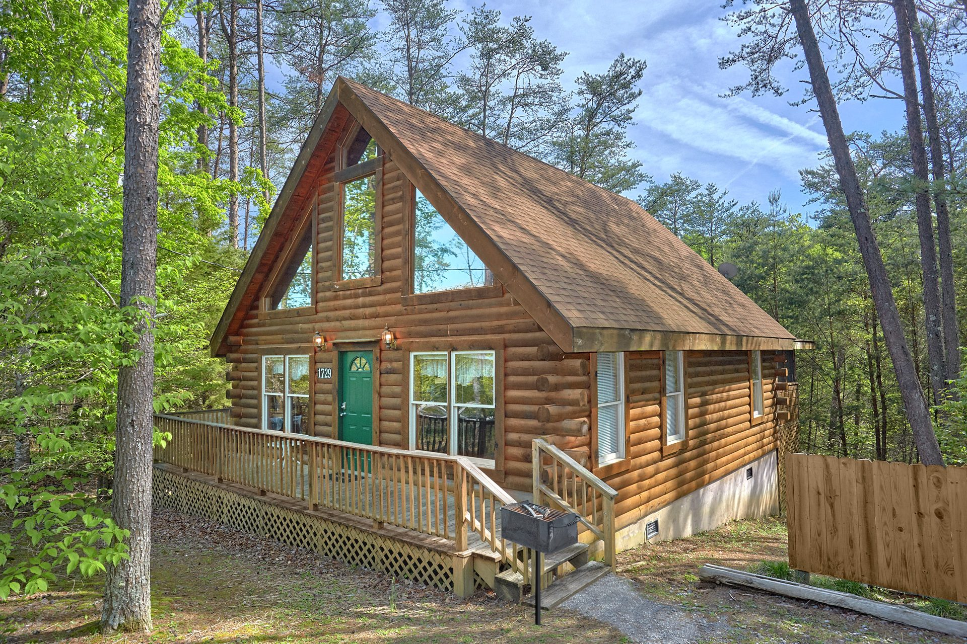 smoky deck elk springs in mountains resort sunrise cabin sevierville cabins