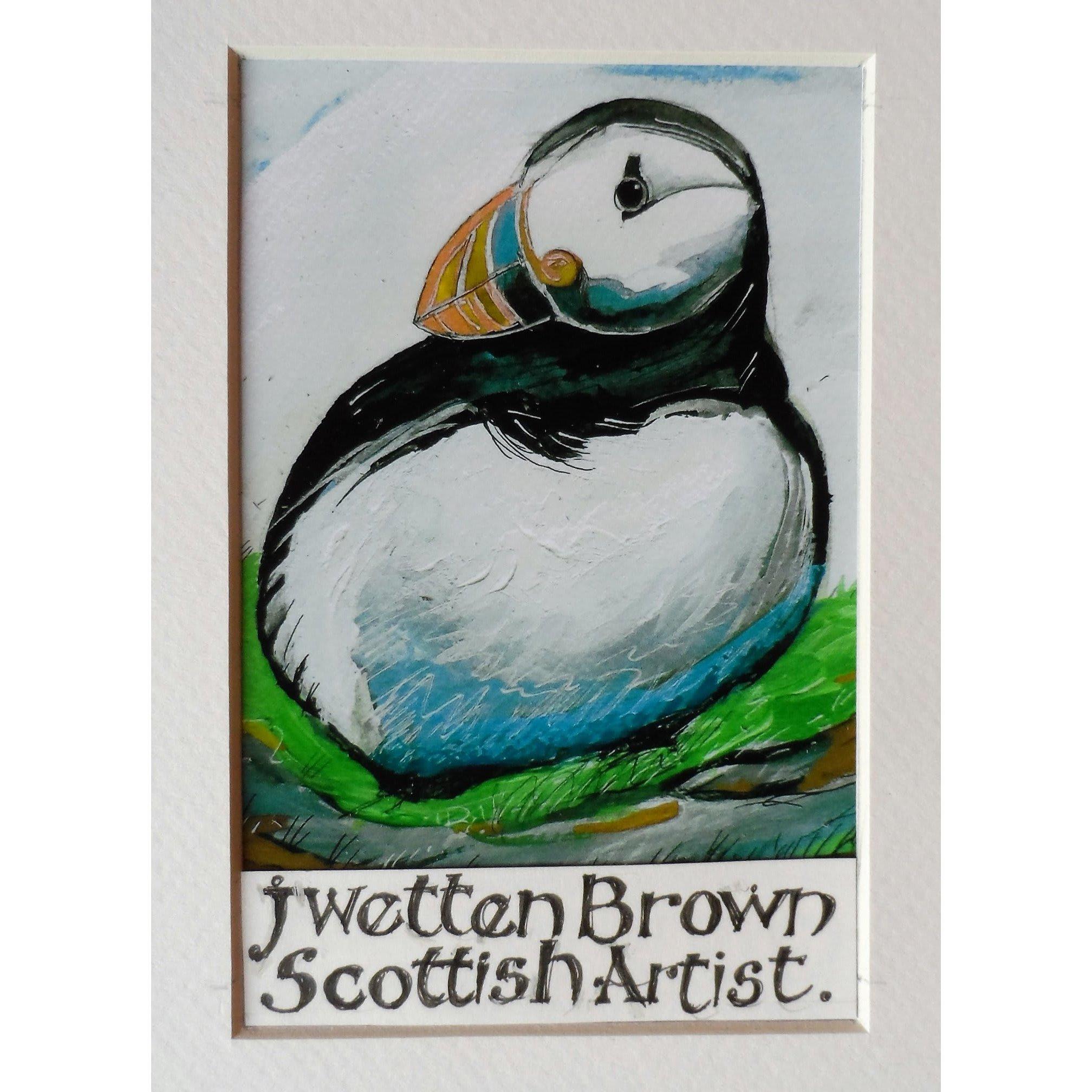 J Wetten Brown Scottish Artist
