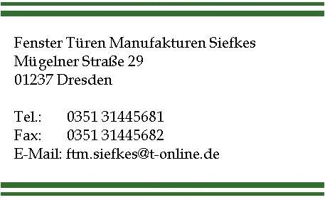 Fenster T Ren Manufaktur Siefkes Dresden 01237 Yellowmap
