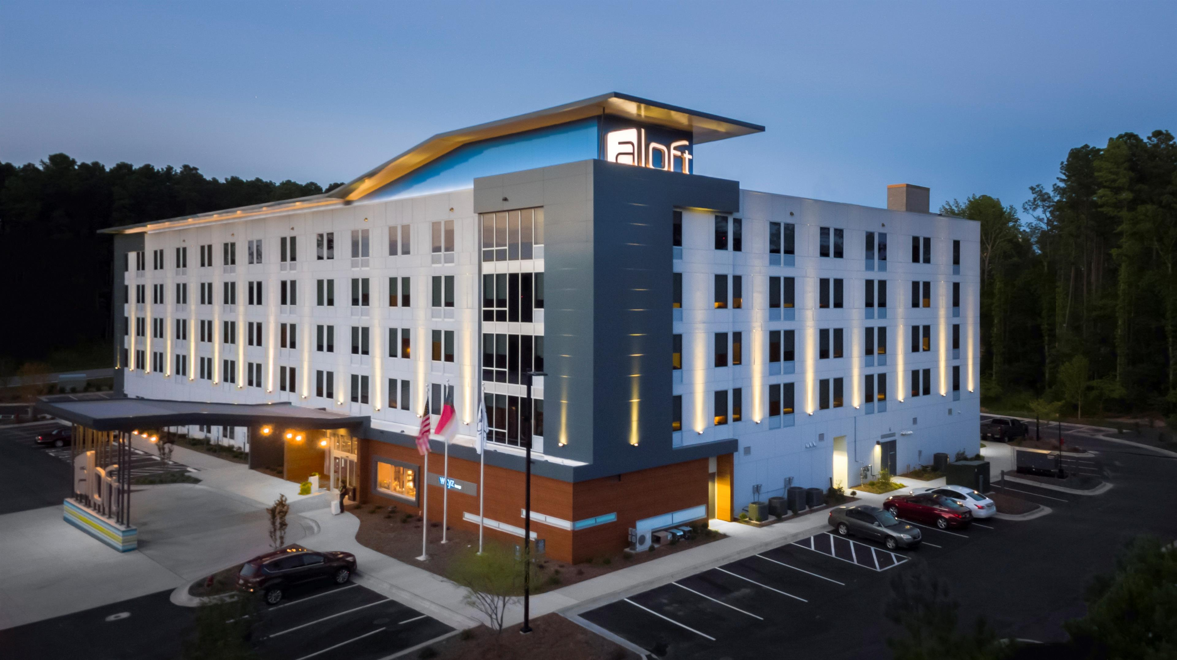 Hotel in NC Raleigh 27617 Aloft Raleigh-Durham Airport Brier Creek 10020 Sellona Street  (919)957-8523