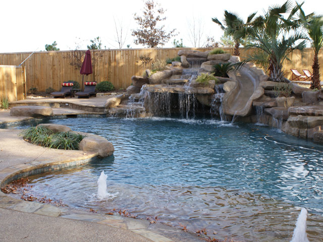 Blue canyon poolscape concepts llc white oak tx for Pool design concepts llc