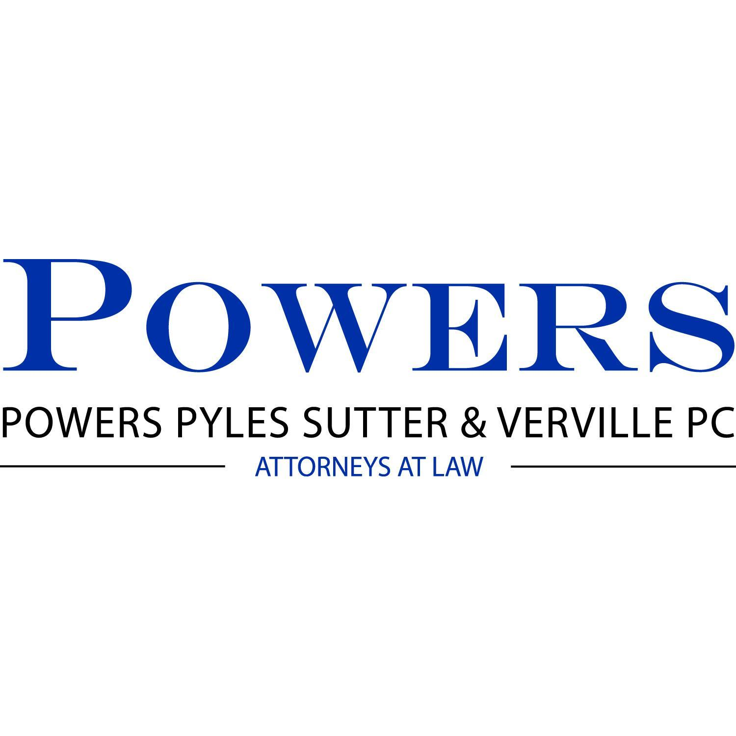 Powers Pyles Sutter & Verville PC