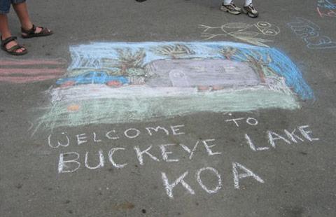 Buckeye Lake / Columbus East KOA Holiday