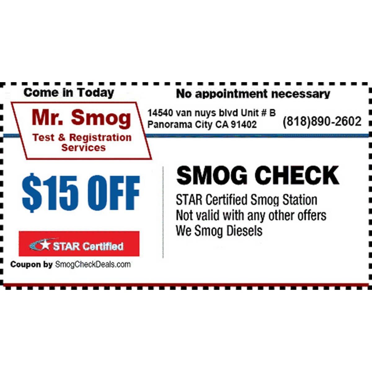 Mr Smog and Registration Services image 2