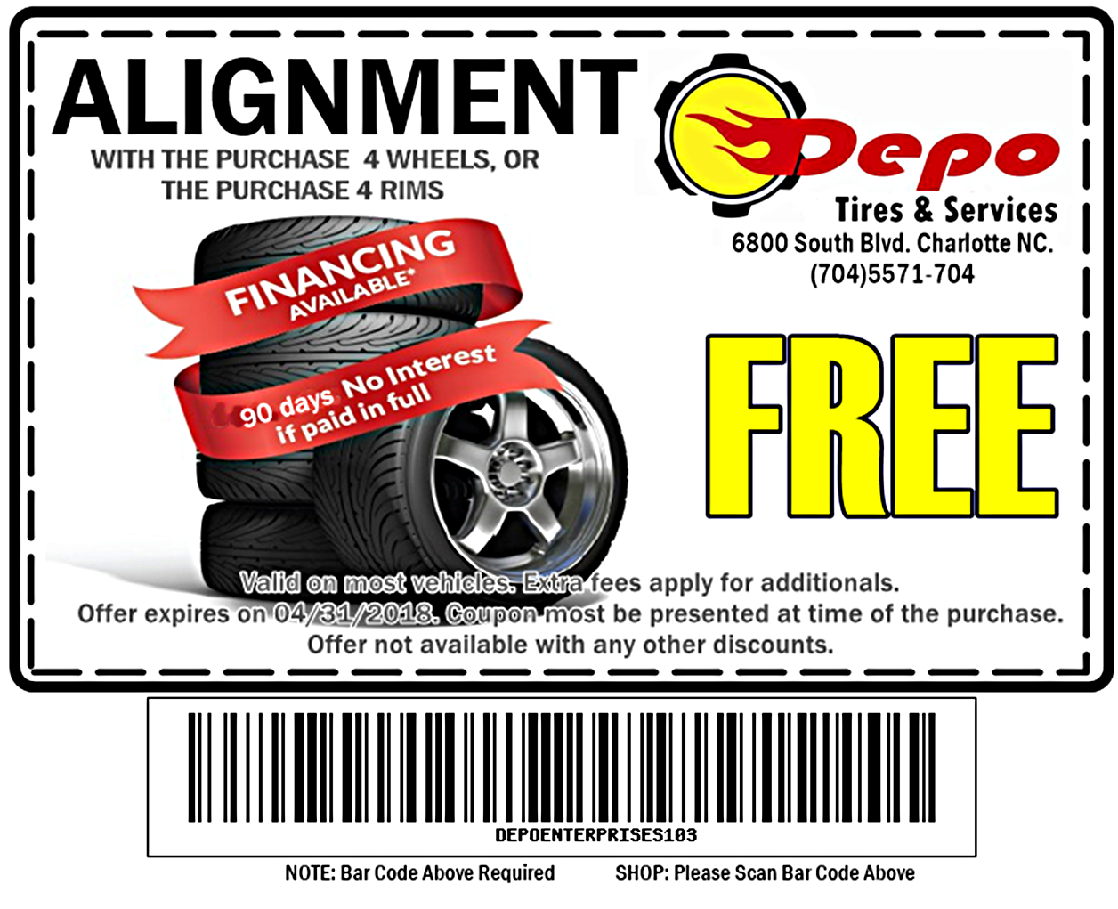 Depo Tires and Services image 0