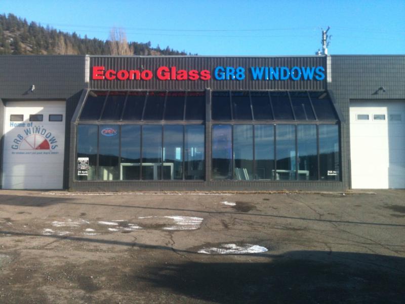 Econo Glass Ltd in Williams Lake