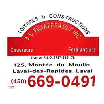 A S Filiatreault Couvreurs Inc à Laval