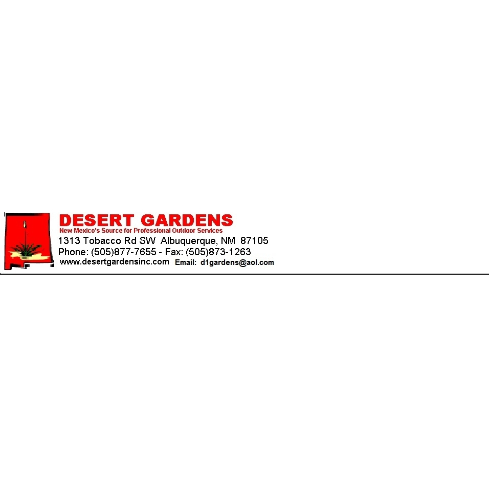 Desert Gardens Outdoor Services, Inc.