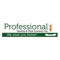 Professional Termite & Pest Control Inc