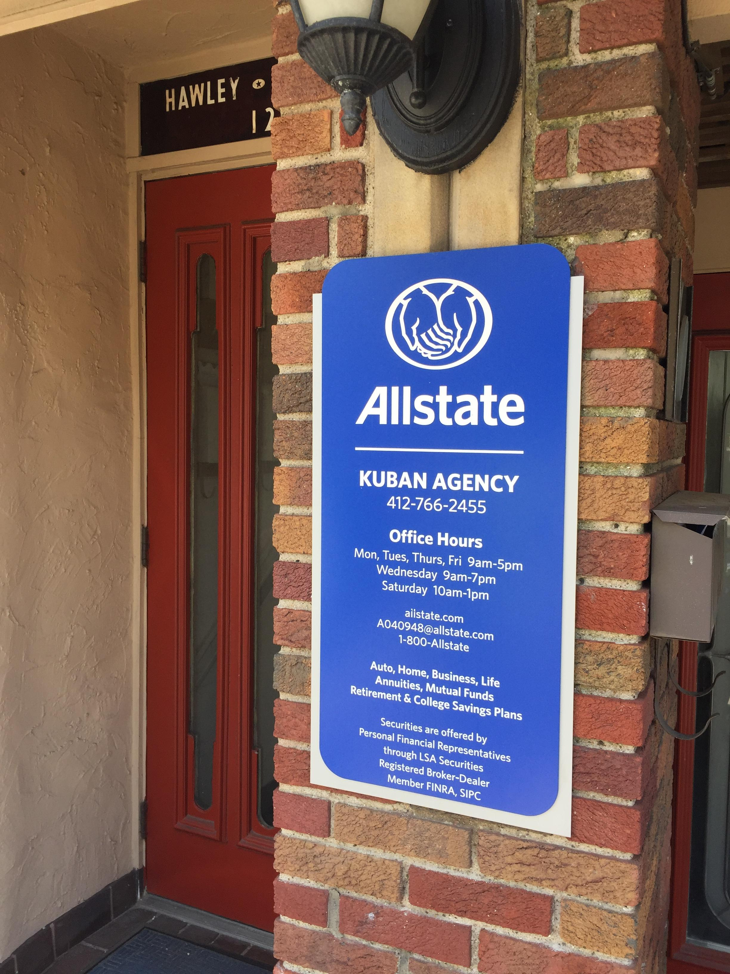 Bill Kuban: Allstate Insurance
