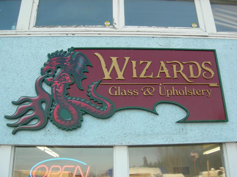 Wizards Glass & Upholstery Ltd in Prince George