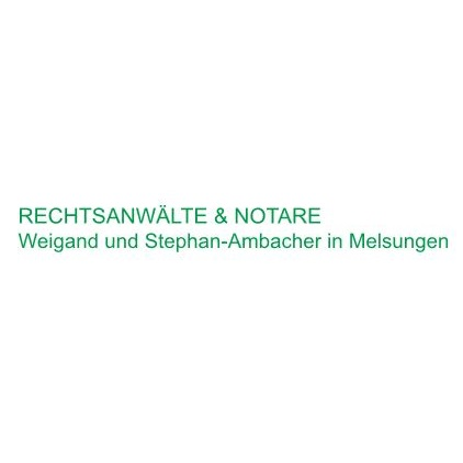 Logo von Rechtsanwälte und Notare Alfred Weigand Notar a.D. Evemarie Stephan-Ambacher Nils Weigand
