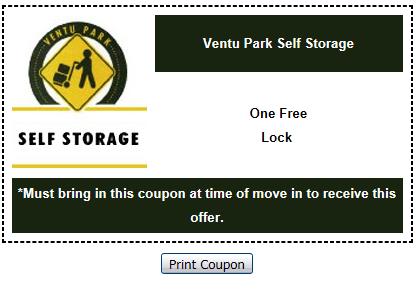 Ventu Park Self Storage image 1
