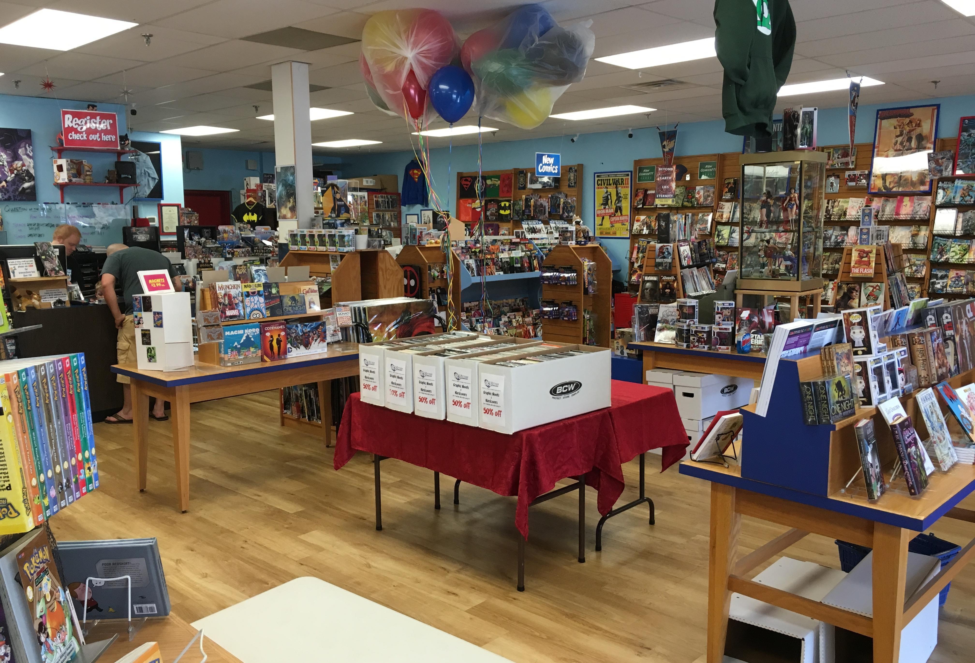 Captain Blue Hen Comics - Newark, DE