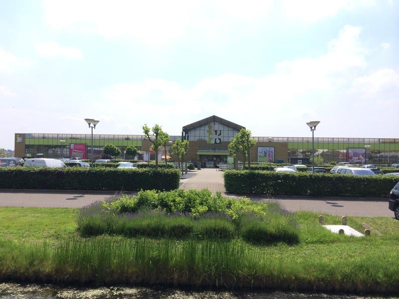 Groenrijk cruquius halve parasol for Tuincentrum haarlem