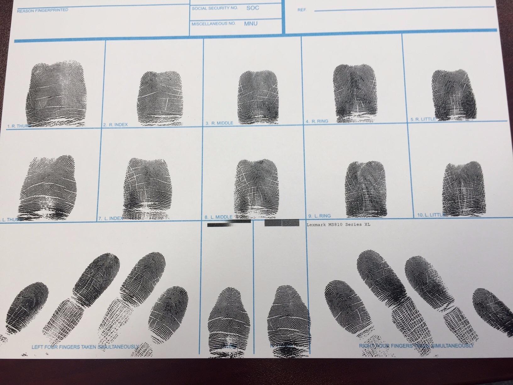 Colorado Fingerprinting