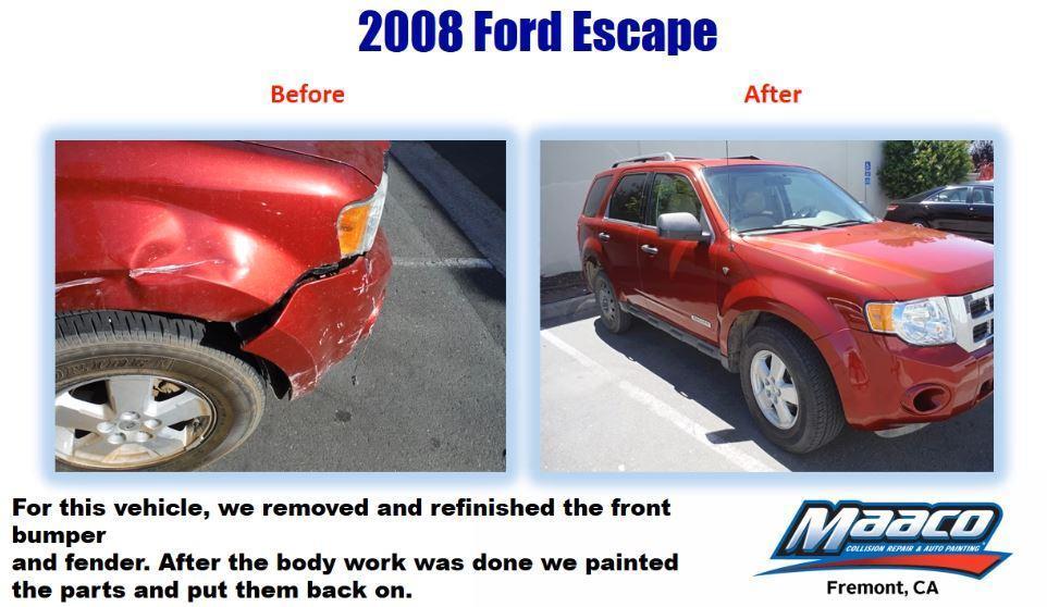 Auto body repair car painting maaco las vegas fremont for Fremont motors service department