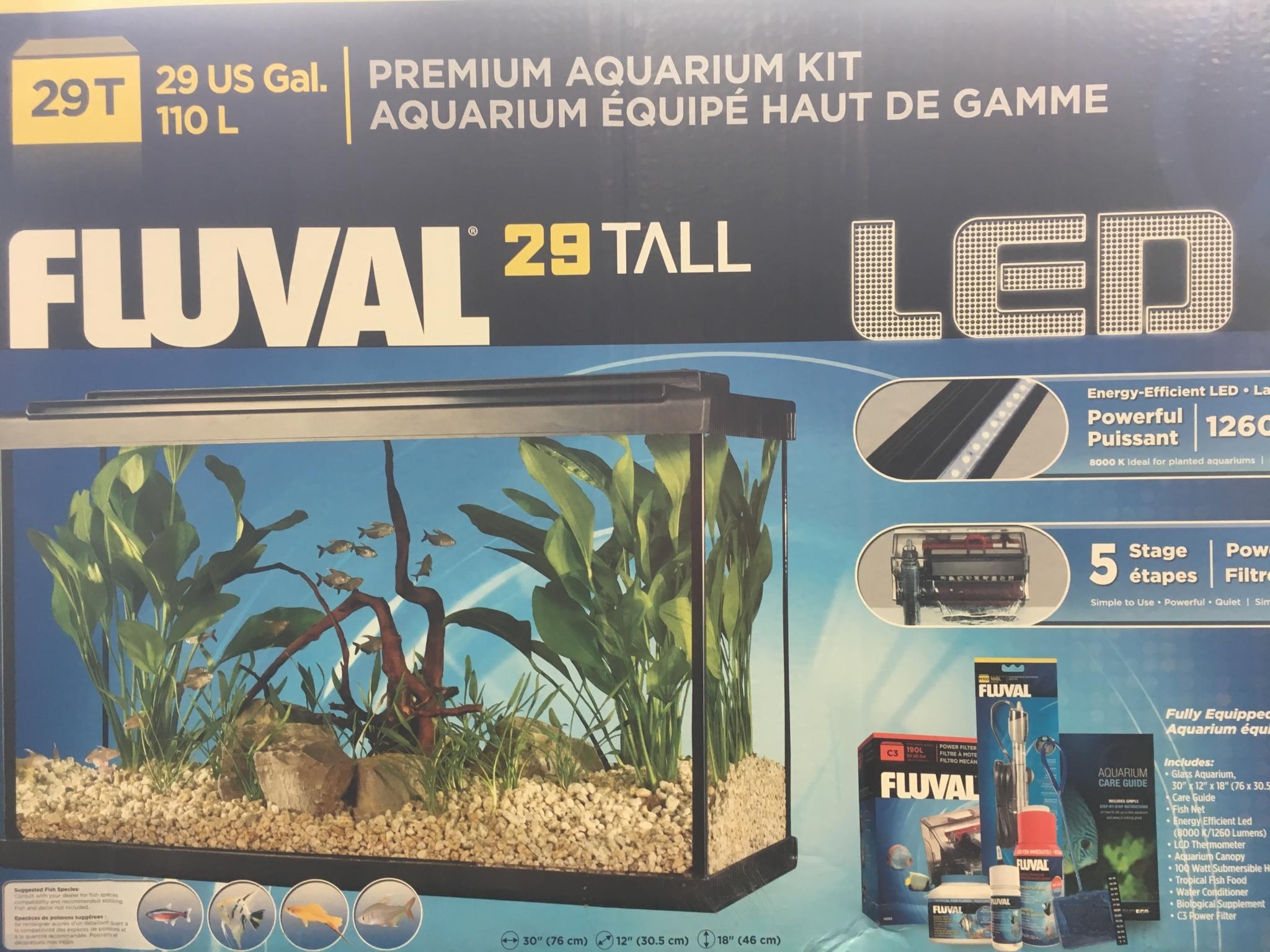 Exotic Aquatic in Williams Lake: 29 Gal Aquarium