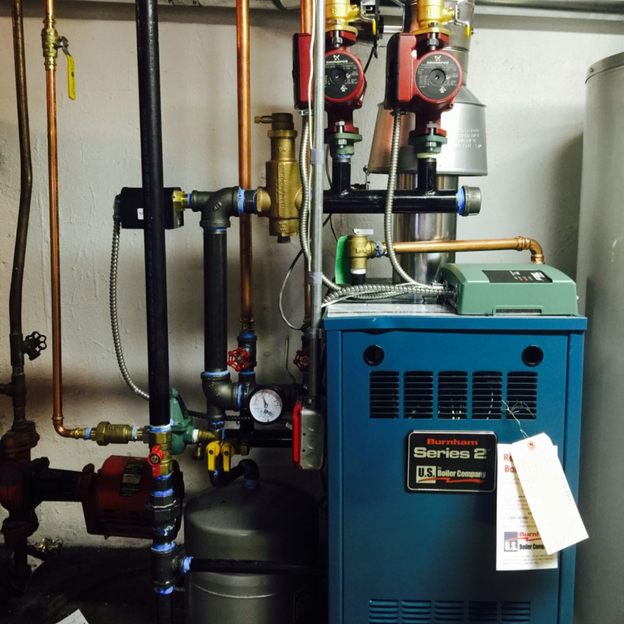 Our team just completed an oil-to-gas conversion for a brand new Malverne, NY resident. Welcome to the neighborhood and we hope you enjoy the benefits of your efficient 50-gallon Hot Water Heater and