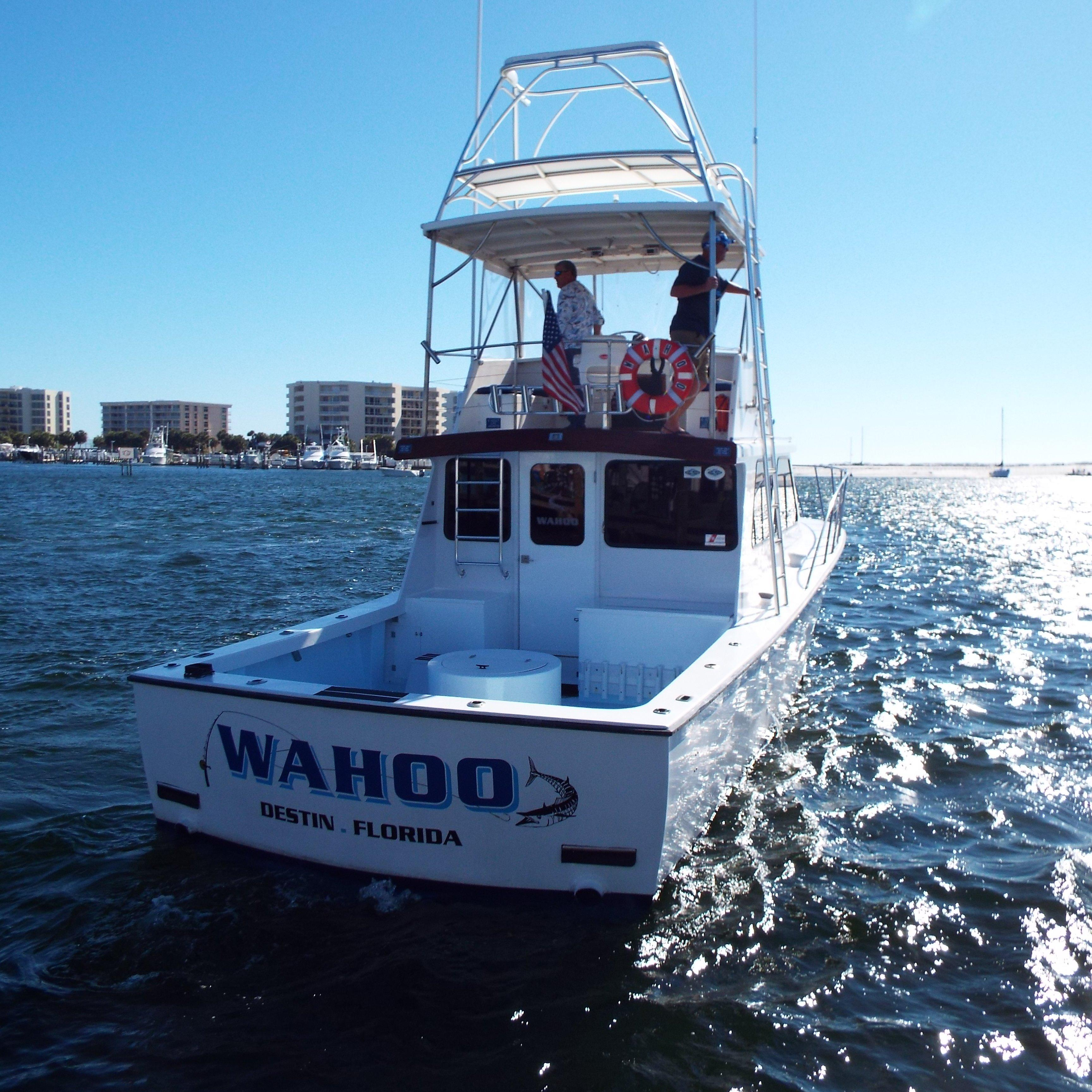 Cutting Edge Charters Inc.  d/b/a  Charter Boat WAHOO