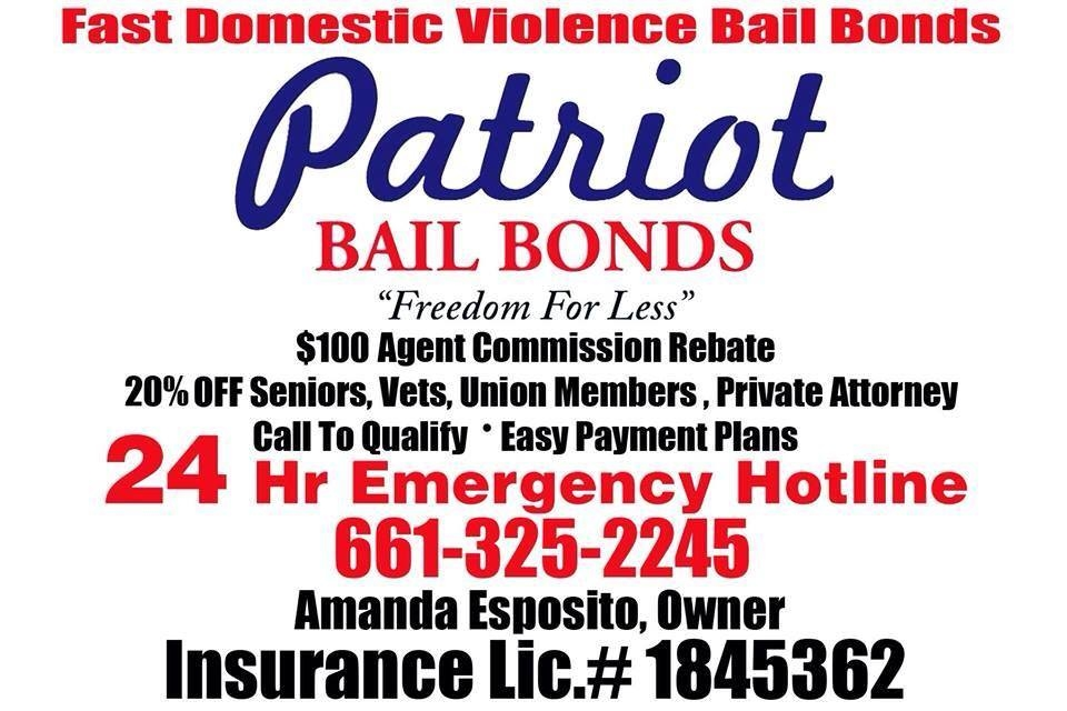 Patriot Bail Bonds - ad image