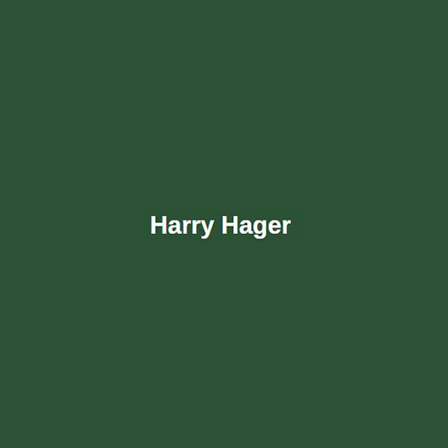 Harry Hager