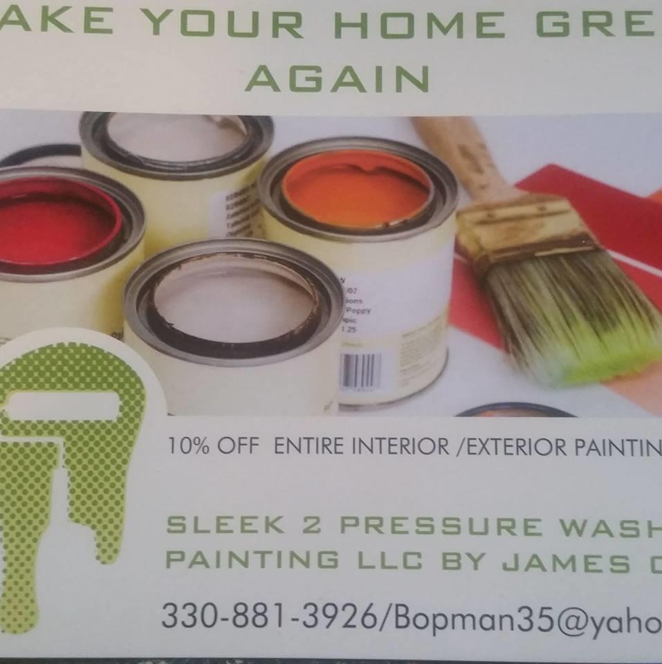 Sleek 2 Pressure Washing & Paint, LLC image 0
