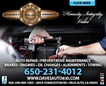 Dave's Auto Repair - ad image