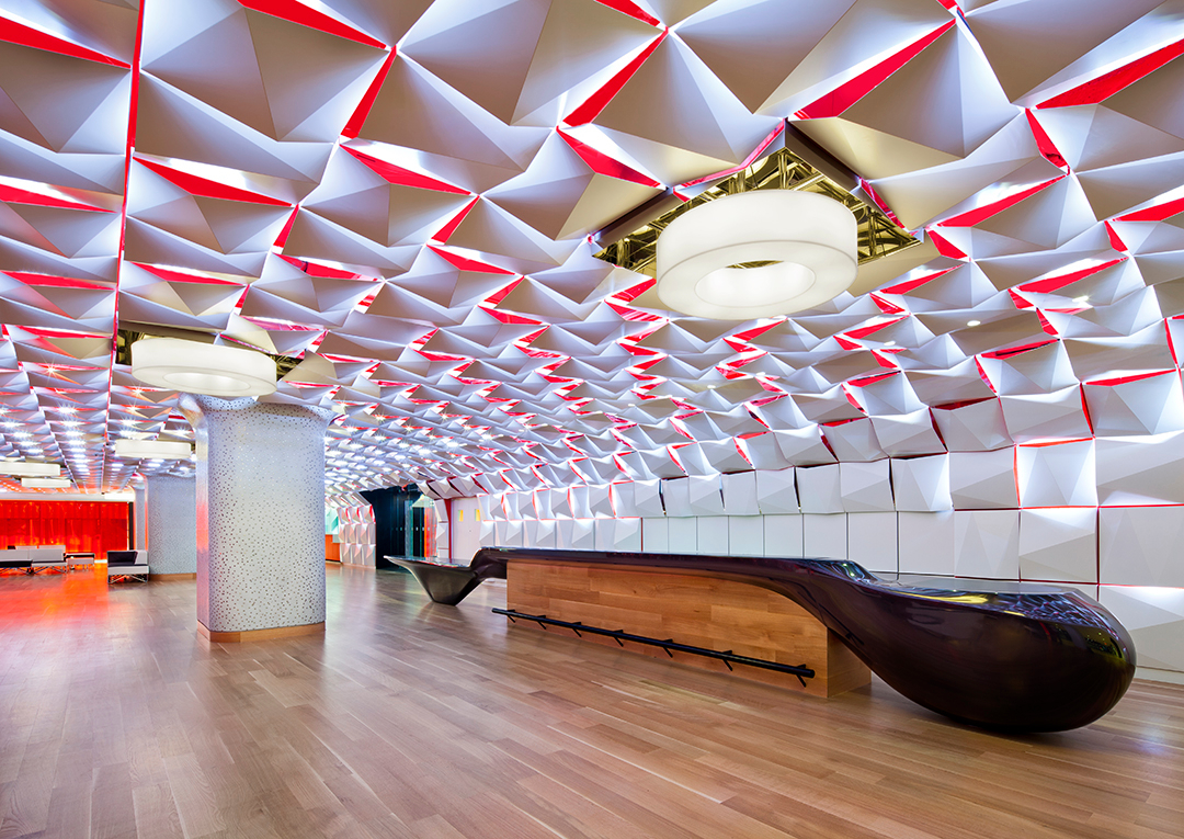 Aedifica à Montréal: Retail Design, Architecture - Salon urbain, Place des arts, Montréal