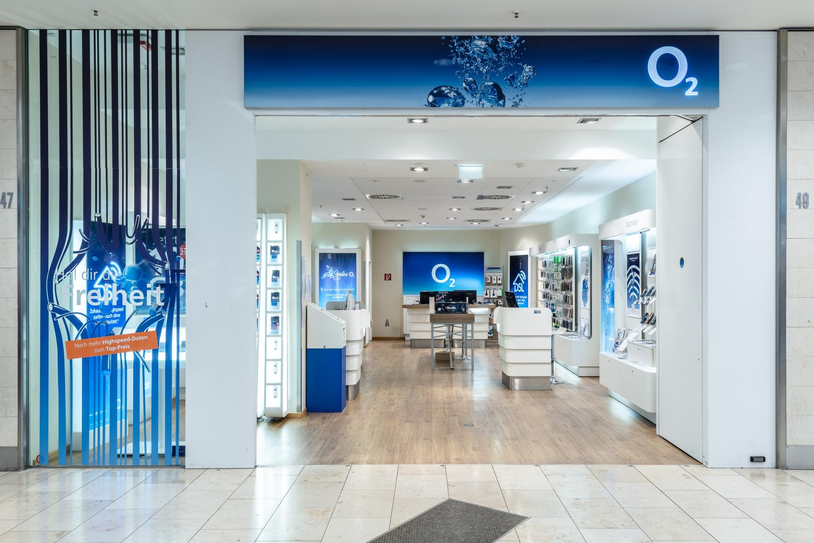 o2 Shop, Limbecker Platz 1a in Essen