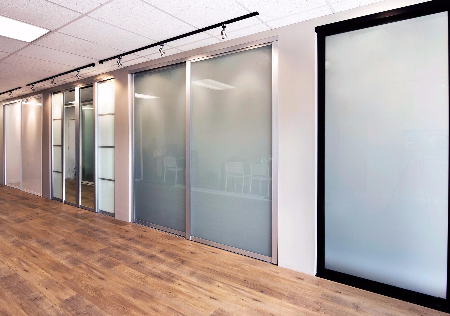 Knr sliding glass doors los angeles office furniture for Closet doors los angeles