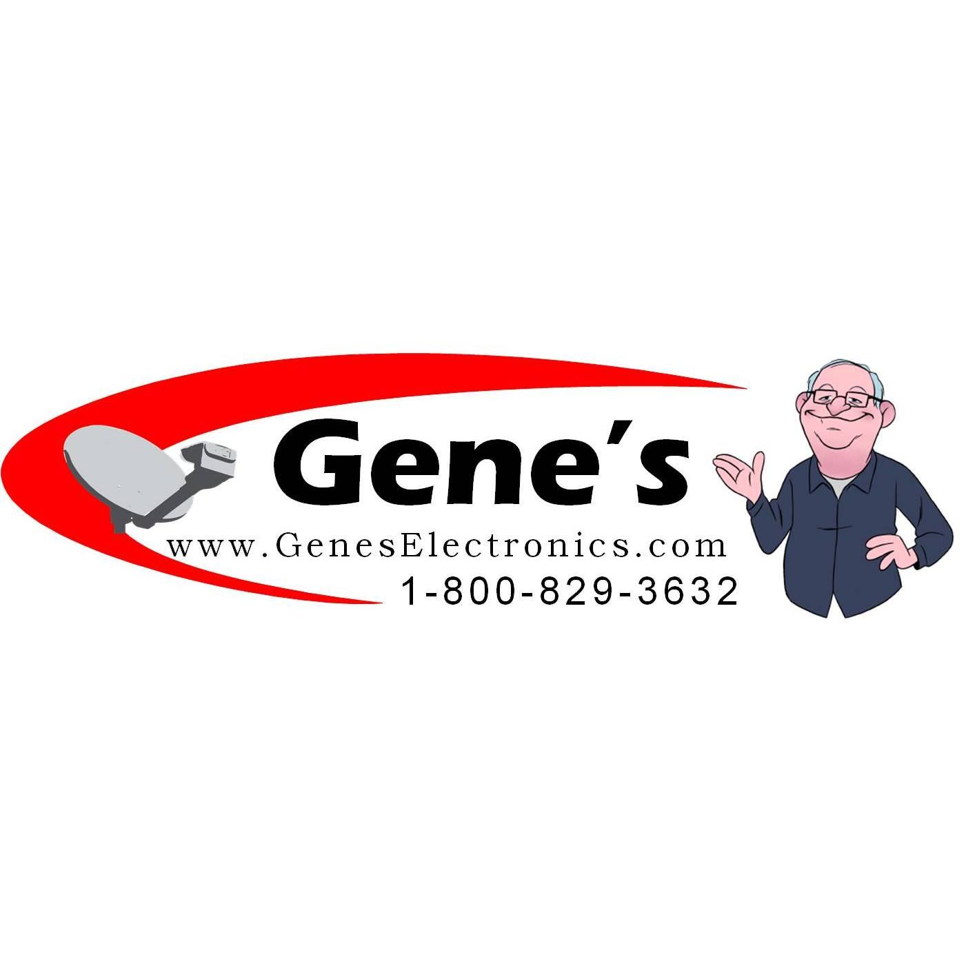 Gene's Electronics - ad image