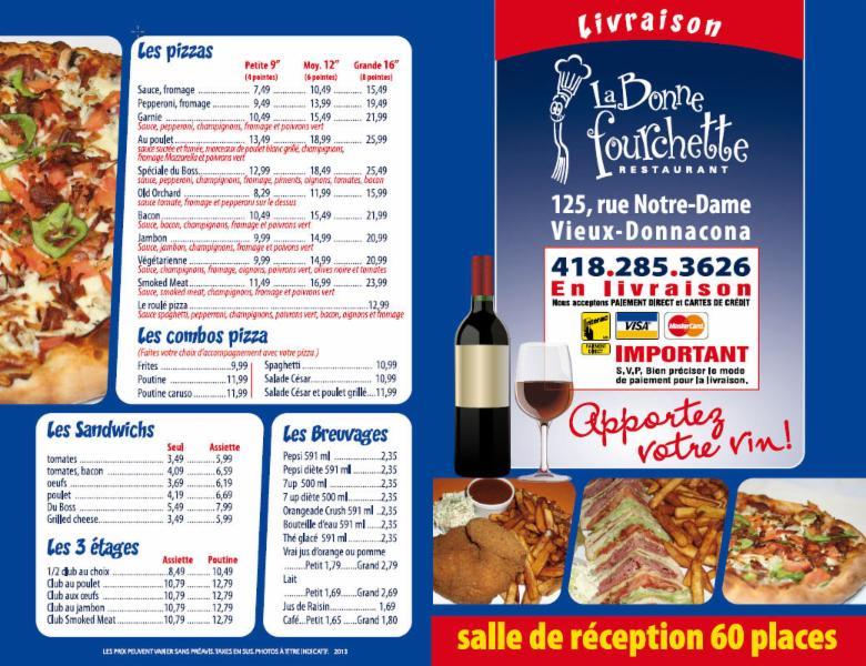 La Restaurant Bonne Fourchette
