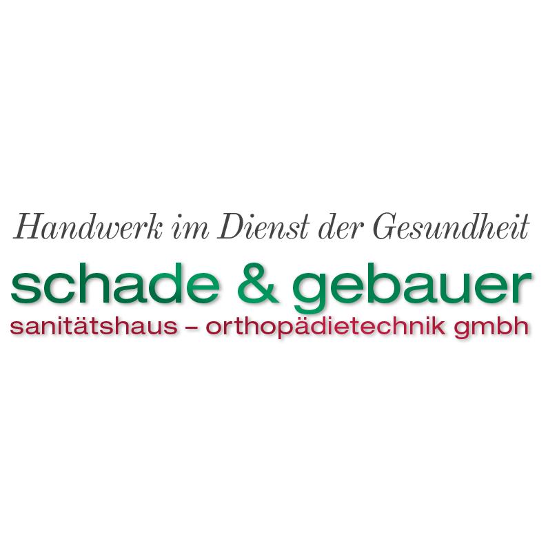 Logo von Sanitätshaus & Orthopädietechnik GmbH Schade & Gebauer