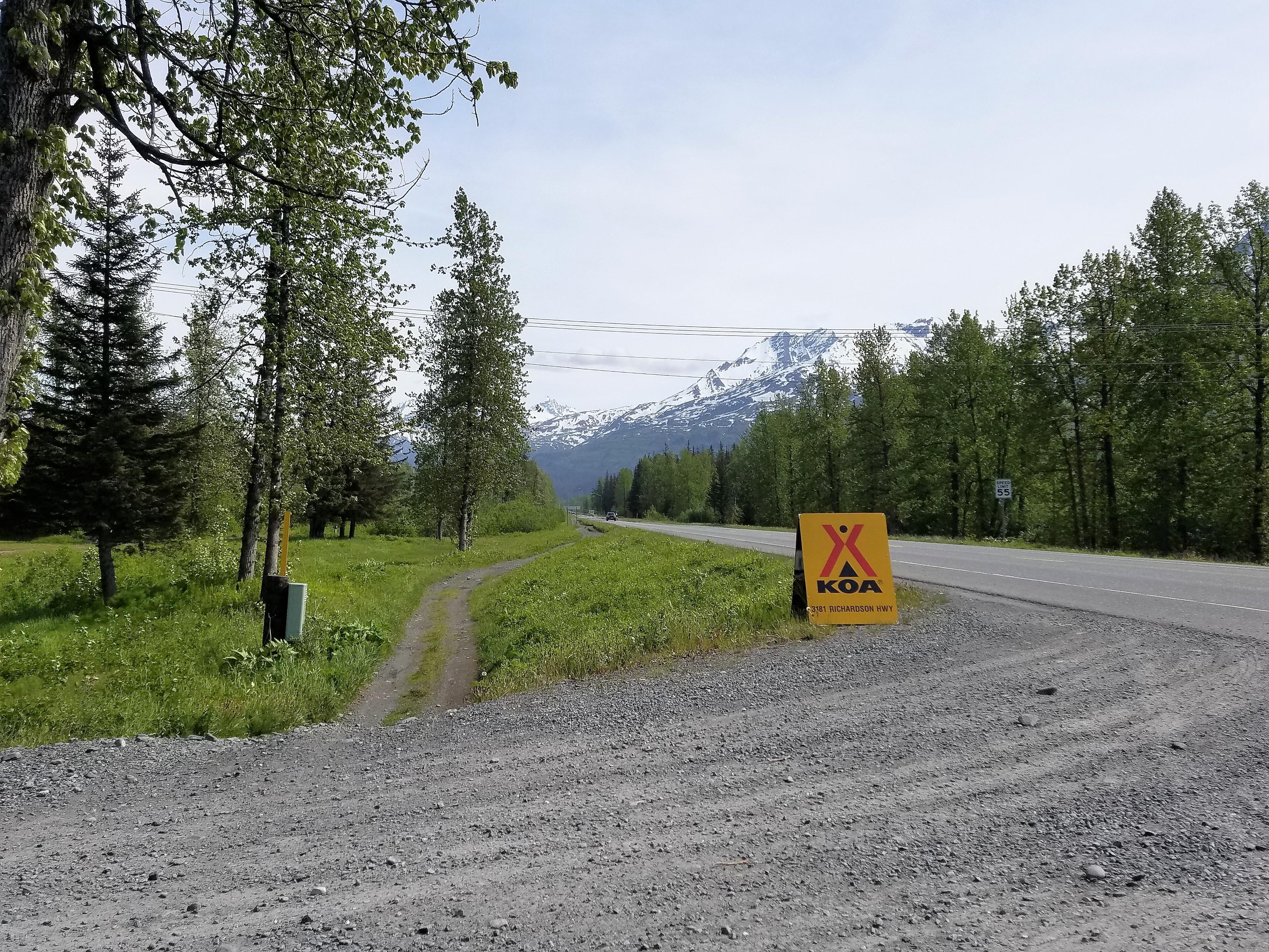 Valdez KOA Journey